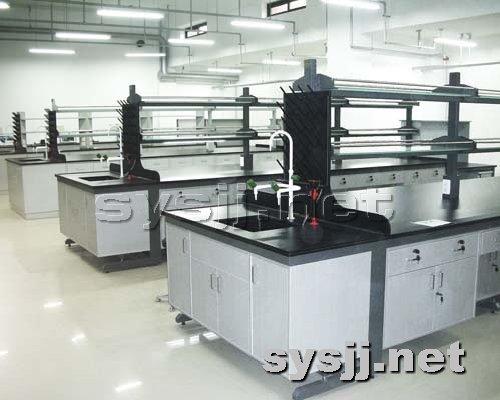 实验室家具提供生产钢木结构中央实验台厂家