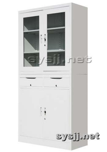 实验室家具提供生产中二屉平开门柜厂家