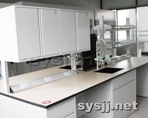 实验室家具提供生产铝木结构边台厂家