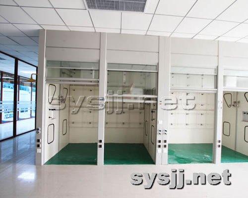 实验室家具提供生产全钢结构连体通风柜