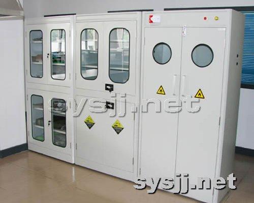 实验室家具提供生产全钢气瓶柜(带报警)厂家