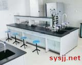实验室铝木中央实验台